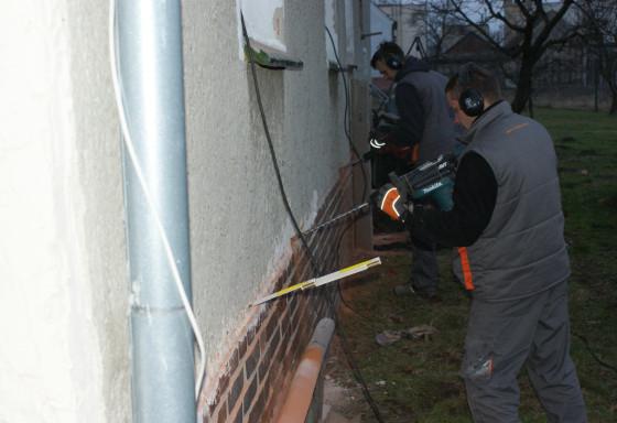 Osuszanie budynku tułowice