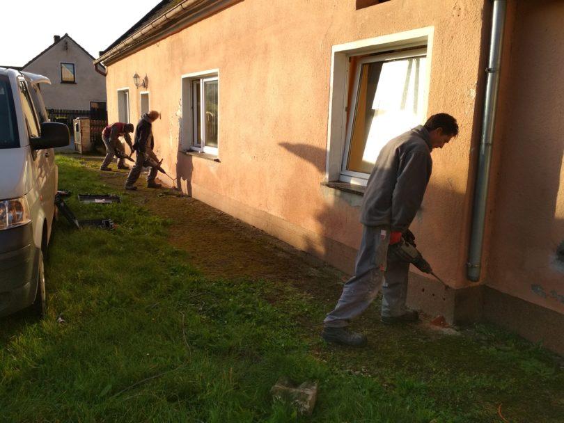 Osuszanie domu w Strzelcach Opolskich